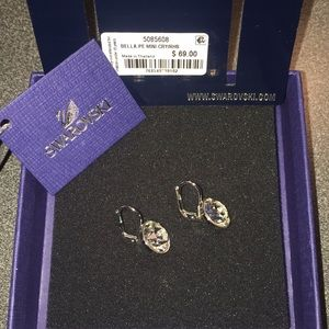 Swarovski Jewelry - Swarovski Bella Earrings, Rhodium plated (5085608)
